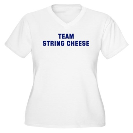 Team STRING CHEESE Women's Plus Size V-Neck T-Shir