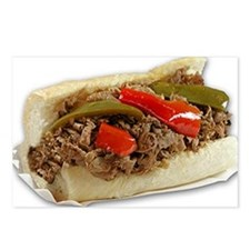 Italian Beef Sandwich fro Postcards (Package of 8)
