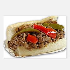 Italian Beef Sandwich fro Postcards (Package of 8)