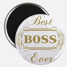 Best Boss Ever (Framed) Magnet