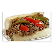 Italian Beef Sandwich from Chi Decal