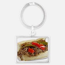 Italian Beef Sandwich from Chic Landscape Keychain