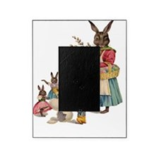 Vintage Easter Bunny with Spring Flo Picture Frame