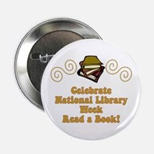 """National Library Week 2.25"""" Button"""