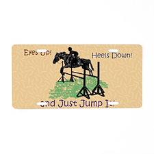 Fun Hunter/Jumper Equestria Aluminum License Plate