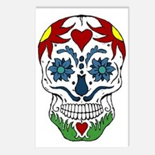 Muerta Skull Postcards (Package of 8)
