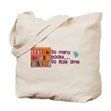 So Many Books Tote Bag