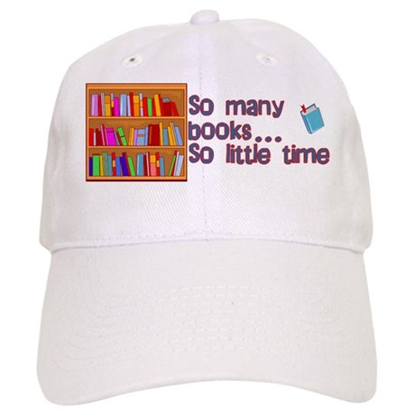 So Many Books Cap