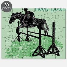 Fun Hunter/Jumper Equestrian Horse Puzzle
