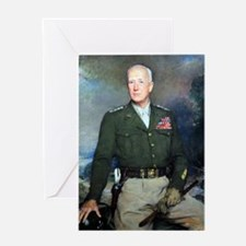 General Patton  Greeting Card