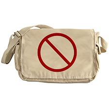 No Drama Messenger Bag