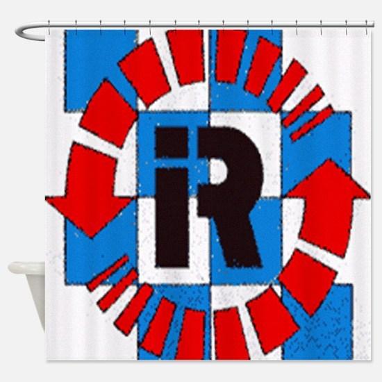 Riverside International Raceway Shower Curtain