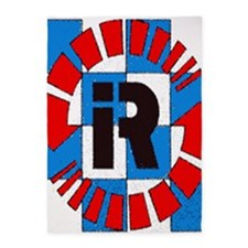 Riverside International Raceway 5'x7'Area Rug