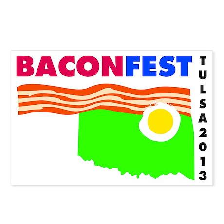 BaconFest Tulsa Postcards (Package of 8)