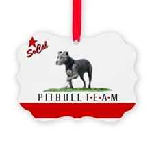 SoCal Pitbull TEAM logo Ornament