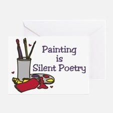 Silent Poetry Greeting Card