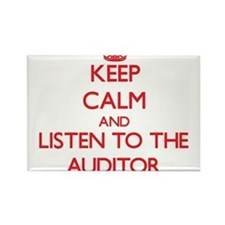 Keep Calm and Listen to the Auditor Magnets