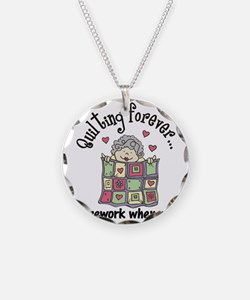 Quilting Forever Necklace