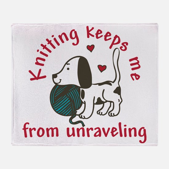 Knitting Throw Blanket