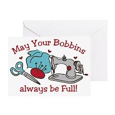 Bobbins Greeting Card