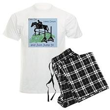 Fun Hunter/Jumper Equestrian  Pajamas