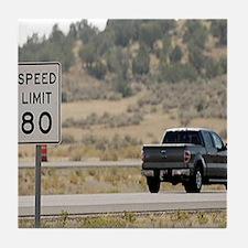 Utah Freeway Tile Coaster
