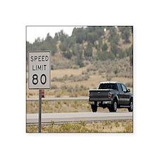 "Utah Freeway Square Sticker 3"" x 3"""