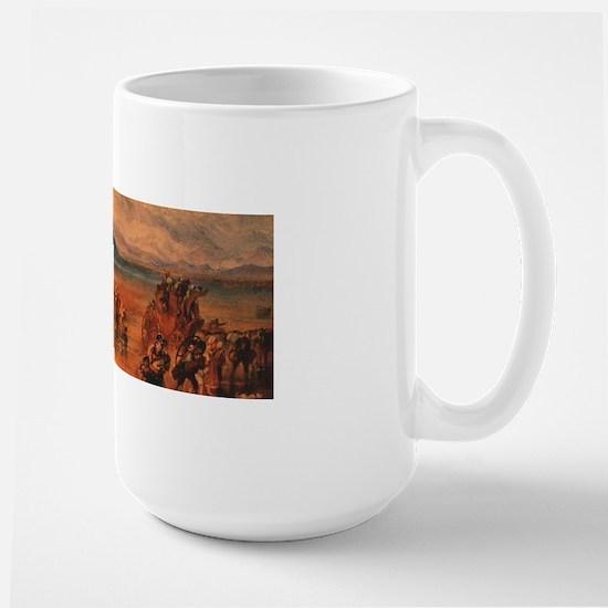 Lancaster Sands Wraparound Large Mug