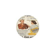 Durkee Margarine Mini Button