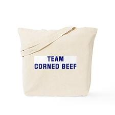 Team CORNED BEEF Tote Bag