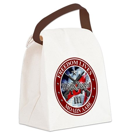 Three Percent - We The People (Fl Canvas Lunch Bag