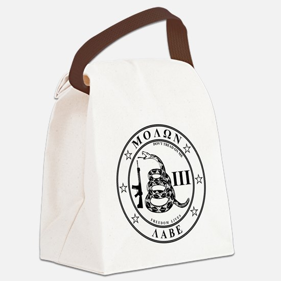 Come and Take It (Whitestar) Canvas Lunch Bag