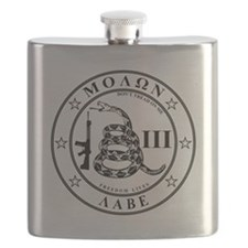 Come and Take It (Whitestar) Flask