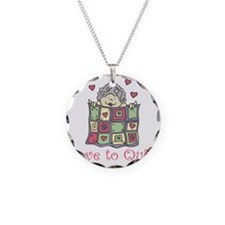 Love to Quilt Necklace