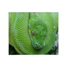 Tree python/chondro python Throw Blanket