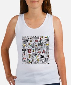Medieval Mash-up Women's Tank Top
