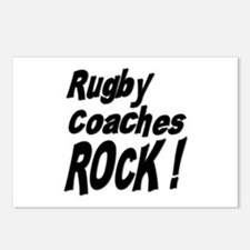 Rugby Coaches Rock ! Postcards (Package of 8)