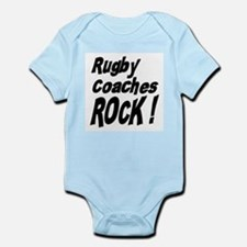 Rugby Coaches Rock ! Onesie