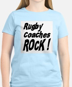 Rugby Coaches Rock ! T-Shirt