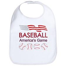 Baseball America's Game Bib