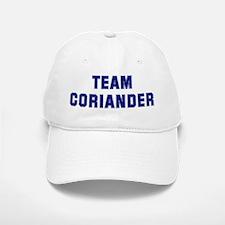 Team CORIANDER Baseball Baseball Cap
