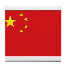China National flag Tile Coaster