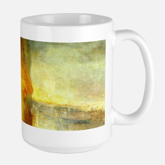 Burning of Parliament Wraparound Large Mug