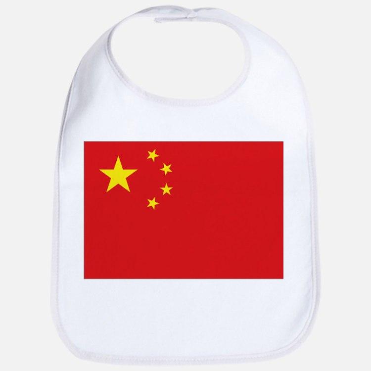 China National flag Bib