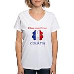 Courtin Family Women's V-Neck T-Shirt