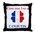 Courtin Family Throw Pillow