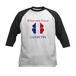 Courtin Family Kids Baseball Jersey
