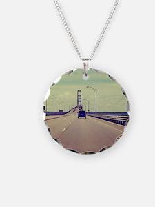 Michigan Road Trip Necklace