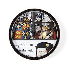 King Richard III Wall Clock