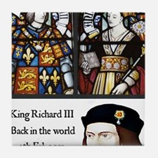 King Richard III Tile Coaster